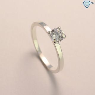 Nhẫn bạc nữ đẹp đơn giản giá rẻ đính đá NN0178 - Trang Sức TNJ