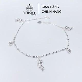 Lắc Chân Bạc Hồ Ly Phong Thủy May Mắn - Minh Canh Jewelry thumbnail