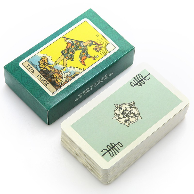78pcs English Version Tarot Cards Board Game Playing Cards For Cards Game