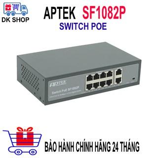 Switch Cấp Nguồn Qua Mạng APTEK SF1082P - Switch 8 Port PoE Chuyên Dụng cho Camera IP, Wi-Fi AP, IP Phone... thumbnail