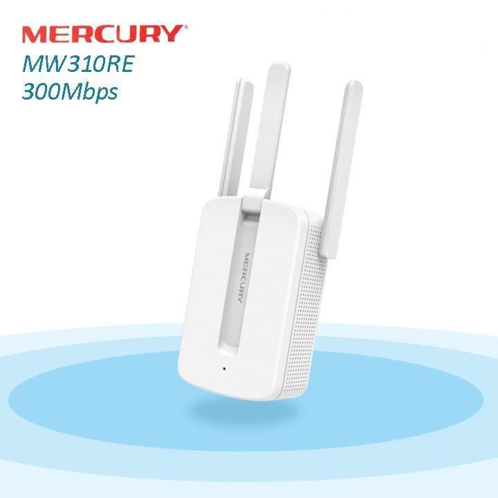 [ XẢ LỖ ] Kích sóng Wifi Mercury 3 râu (wireless 300Mbps) Giá chỉ 150.000₫