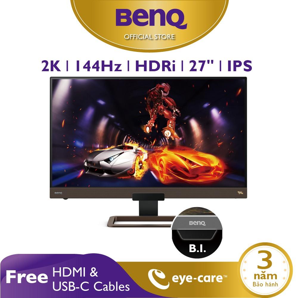 Màn hình Gaming BenQ EX2780Q 27 inch 2K 144Hz với HDRi, FreeSync - Màn hình chơi Game, Giải trí và làm việc ở nhà