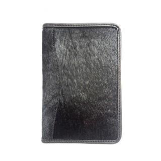 Ví đựng passport da lông bò WILDCAT COW HAIR LEATHER PASSPORT Wallet thumbnail