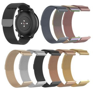 Dây đeo đồng hồ bằng thép không gỉ cỡ 20mm thay thế tiện dụng cho Amazfit GTR 42mm