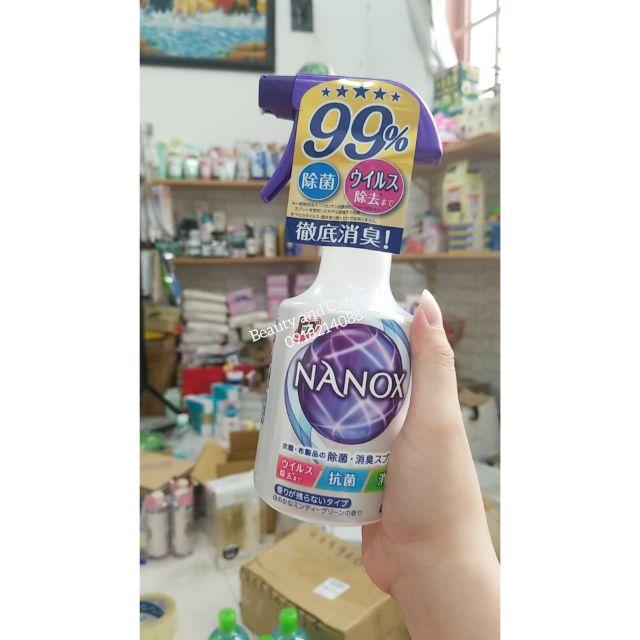 Xịt khuẩn phòng NaNox 350ml