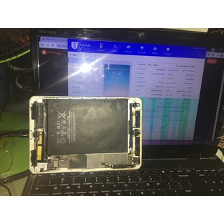 Xác iPad mini 16gb wifi+4G ko màn hình, bao ko iCloud cấm máy tính thấy còn nhận như hình