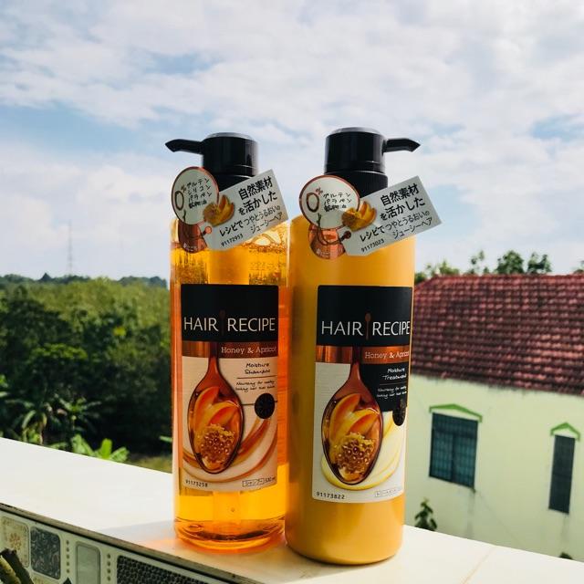 Dầu gội đầu Hair Recipe Honey Apricot Enrich Moisture dành cho tóc khô, xơ. - 3252835 , 667728351 , 322_667728351 , 460000 , Dau-goi-dau-Hair-Recipe-Honey-Apricot-Enrich-Moisture-danh-cho-toc-kho-xo.-322_667728351 , shopee.vn , Dầu gội đầu Hair Recipe Honey Apricot Enrich Moisture dành cho tóc khô, xơ.