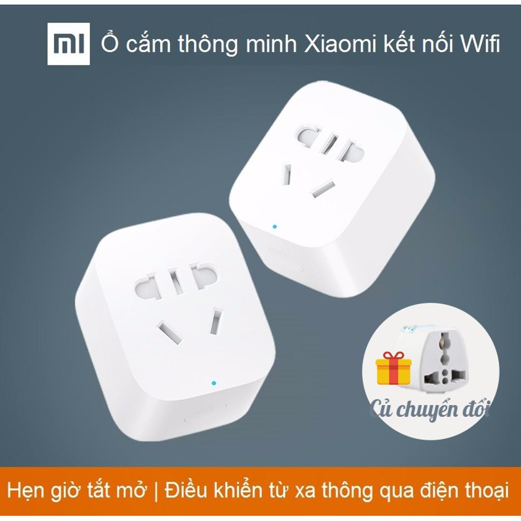 [CHÍNH HÃNG] Ổ điện thông minh Xiaomi Smart Socket | Ổ cắm thông minh Xiaomi