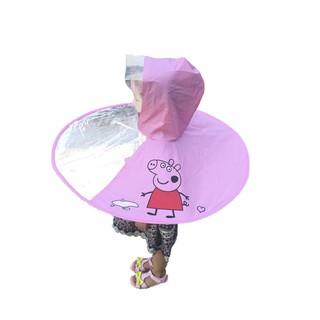 Áo mưa dành cho trẻ em hình thú dễ thương thumbnail