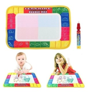 Baby Kids Magic Pen Doodle Painting Picture Water Drawing Play Mat