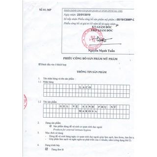 CHÍNH HÃNG Dung Dịch Vệ Sinh Phụ Nữ MAROSA - LACO (GEL) Chiết Xuất Thiên Nhiên Giúp Làm Sạch, Ngăn Ngừa Vi Khuẩn 7