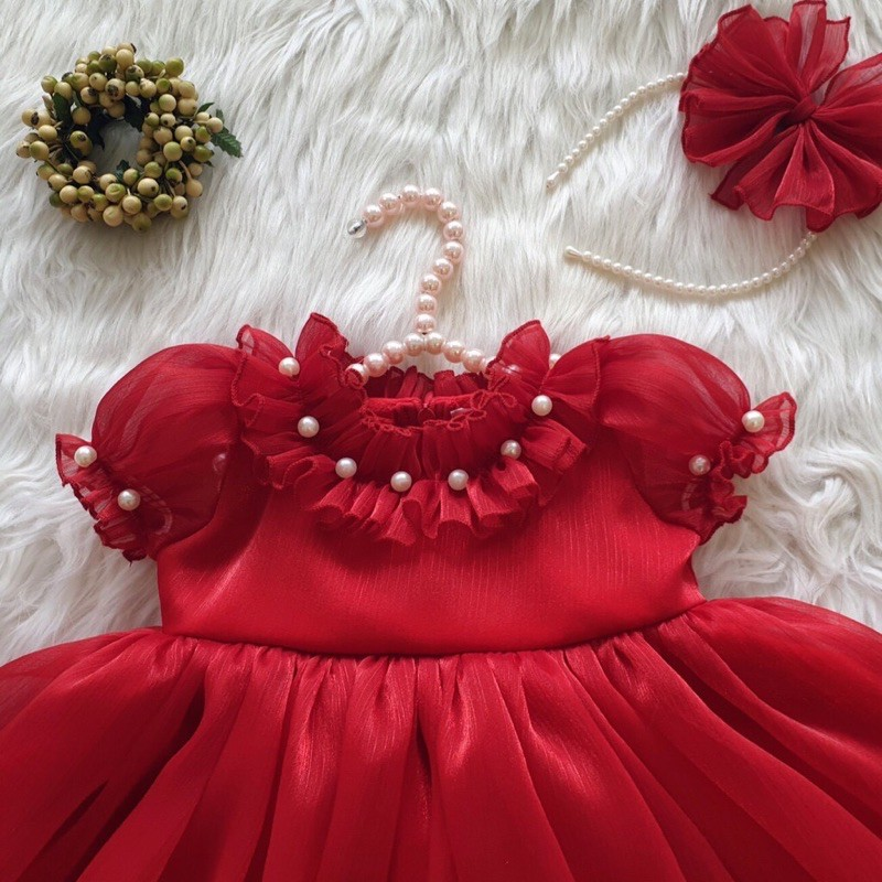 Váy công chúa bồng bềnh dễ thương cho bé gái