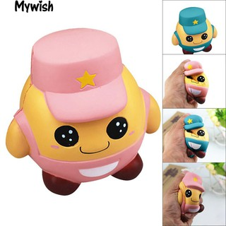 👶🏼Cute Squishy Soldier Soft Bread Stress Relief Squeeze Slow Rising Toys Gifts