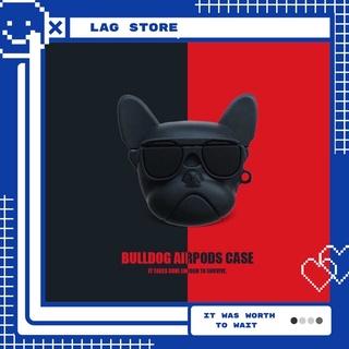 Case Vỏ Bao Đựng Tai Nghe Airpod 1&2/Pro Chó Bull Ngầu – Vỏ Bao Airpod Chất Liệu Bằng Silicon Dẻo – LAG Store