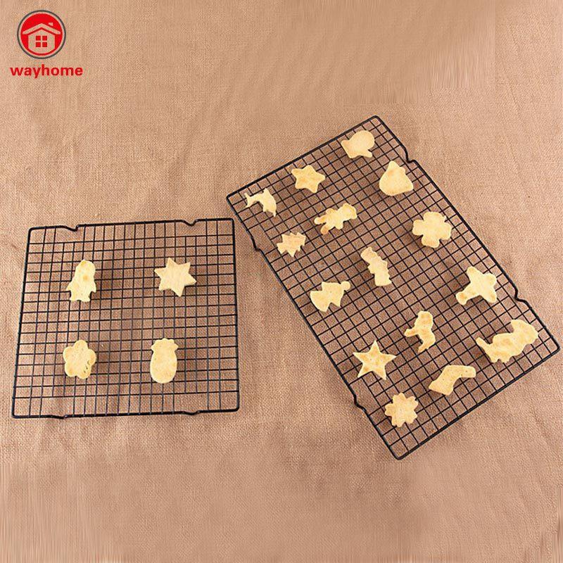 Vỉ nướng bánh bằng kim loại chống dính