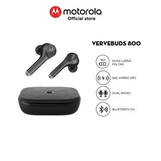 Tai nghe nhét tai bluetooth không dây TWS sạc không dây - Motorola - VerveBuds800-Hỗ trợ sạc không dây- Type C