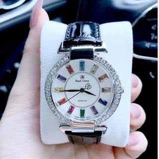 (Thẻ bảo hành 12 tháng) Đồng Hồ Nữ Chính Hãng Royal Crown 4604 -Đồng hồ royal thumbnail