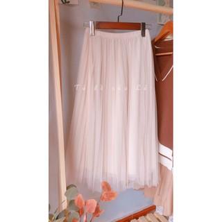 Chân váy tutu màu nude 3 lớp siêu xinh