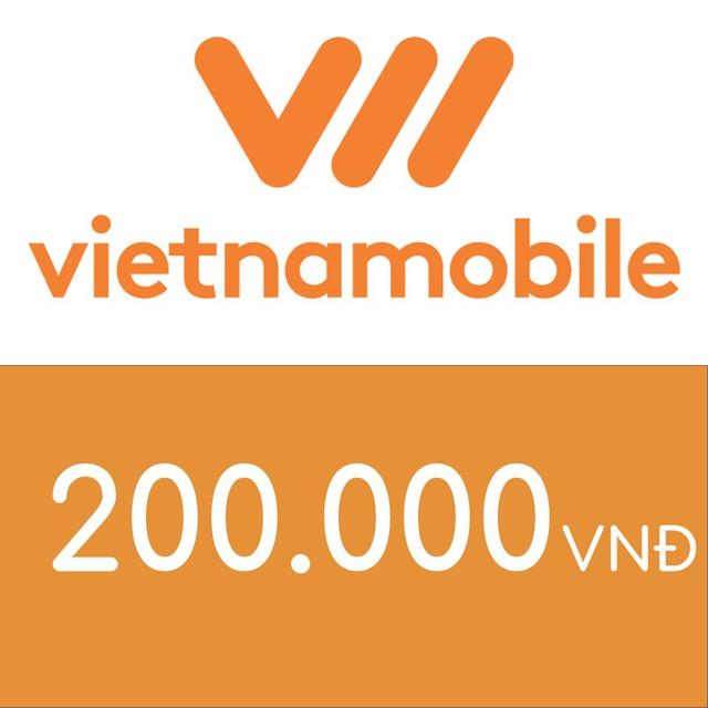 Mã thẻ điện thoại Vietnamobile 200K