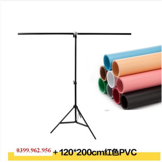 Phông nền PVC + Khung Kim Loại