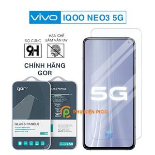 Cường lực Vivo iQOO Neo3 5G chính hãng Gor bộ 2 chiếc độ cứng 9H Kính cường lực Vivo Neo3 5Gkính cường lực thumbnail