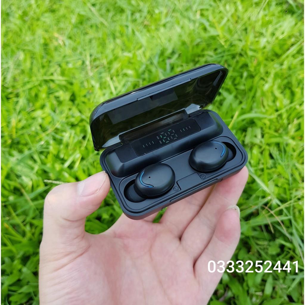 Tai nghe True Wireless Amoi F9 PRO Bluetooth 5.0   Bản Quốc Tế   Cảm Ứng   Chống Nước