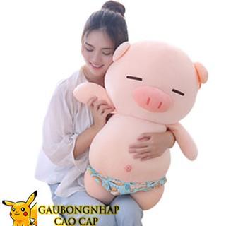 [ BIGSALE ] Gấu bông Lợn mặc quần chíp hàng nhập cao cấp size 70cm