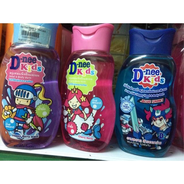 Sữa tắm gội toàn thân cho bé Dnee Kid 200ml