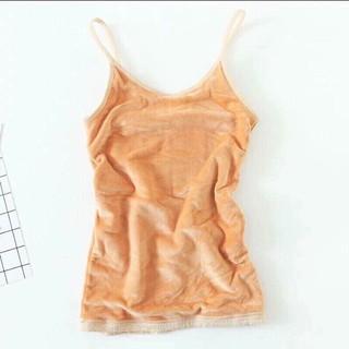 [Rẻ nhất] Áo 2 dây lót lông