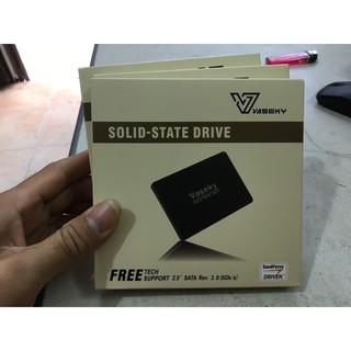 Ổ cứng SSD Vaseky V800 120GB - 240GB mới  SATA3 cho Laptop và PC BH 36 tháng- Tặng kèm cáp Sata - Cài Win free