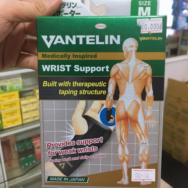 Đai bảo vệ cổ tay VANTELIN[NHAT BAN] ( CAM KẾT HÀNG CHÍNH HÃNG )