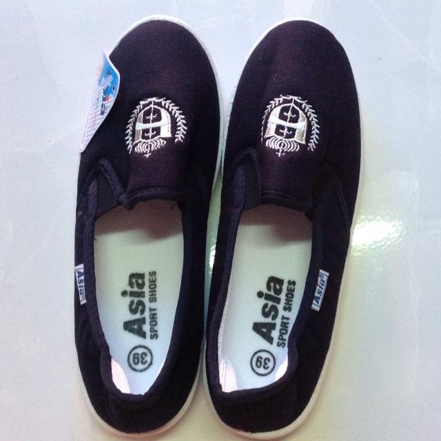 Giày xanh đen Asia không cột dây - 3092962 , 693534015 , 322_693534015 , 75000 , Giay-xanh-den-Asia-khong-cot-day-322_693534015 , shopee.vn , Giày xanh đen Asia không cột dây