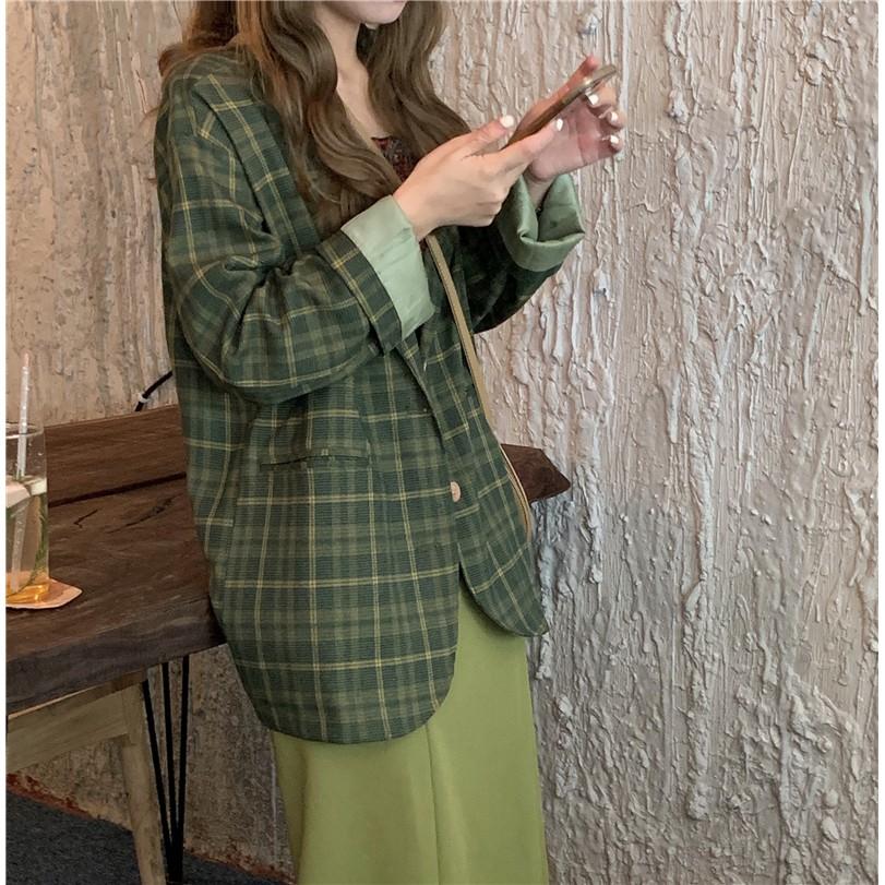 ORDER Set Blazer chân váy dài style ulazang --8254