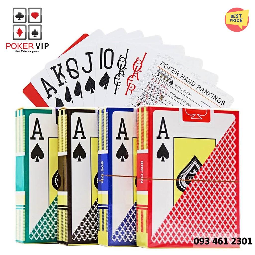 Bài nhựa – Bài tây chống nước Texas Hold'em Poker