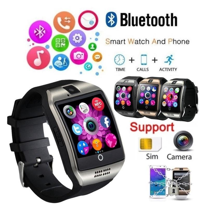 Đồng hồ thông minh Q18 kết nối Bluetooth hỗ trợ thẻ nhớ TF