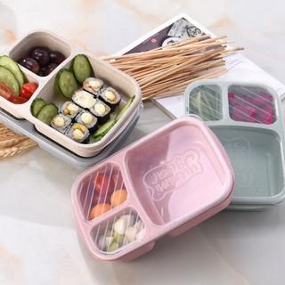 Yêu ThíchHộp đựng thức ăn trưa gồm 3 ngăn tiện lợi xinh xắn
