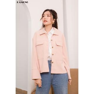 Áo khoác nhung nhẹ tay dài KAMONG A020 thumbnail