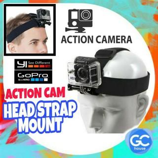 Dây Đeo Đầu Gắn Máy Ảnh Hành Động GoPro Hero 4 5 6 7 Xiaomi Yi thumbnail