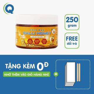 Wax Lông An Lành Calli Honey Tẩy Lông Nách Bikini vĩnh viễn tặng 50 giấy 2 que wax – WCH
