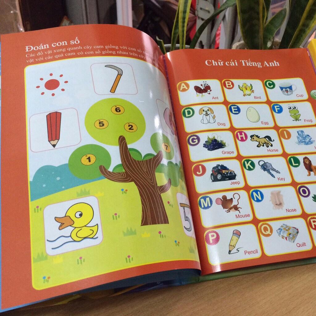[Giảm 9k cho đơn từ 99k] Sách Nói Điện Tử Song Ngữ Anh- Việt Giúp Trẻ Học Tốt Tiếng Anh...