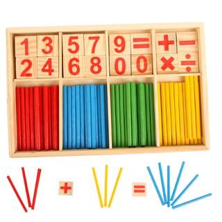 Đồ chơi bảng tính toán học gỗ – bảng tính que cho bé