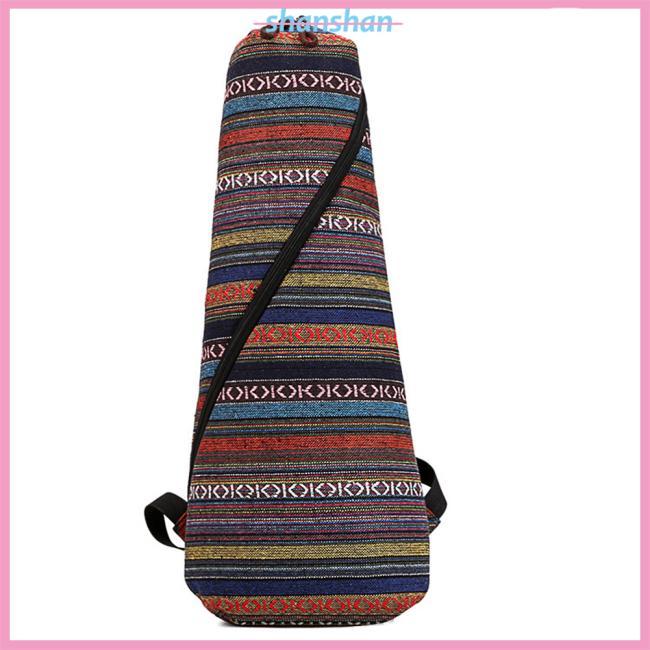 21/23/26 National Style Ukulele Guitar Backpack Soft Pad Cotton Thickening Case