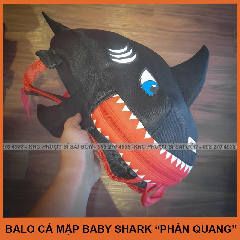 Balo khủng long cá mập phản quang cao cấp phiên bản mới nhất đựng mũ nón bảo hiểm fullface chính hãng