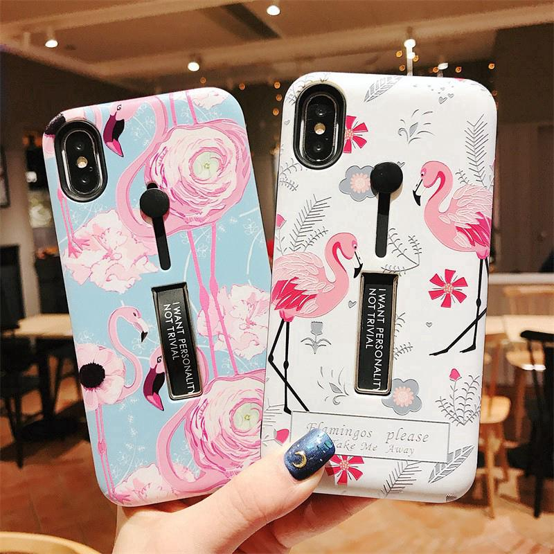 iPhone 6 6S 7 8 Plus iPhone X XS XR Max Case With Bracket Q021