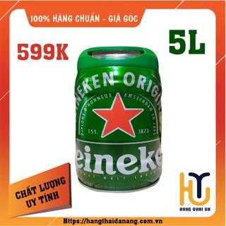 bia Heniken Bom Hà Lan Nhập Khẩu 5 lít