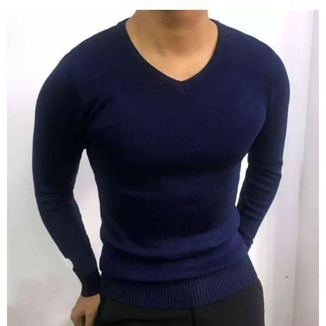 Áo len nam cổ tim chất liệu len cao cấp dày dặn dáng ôm nhẹ phù hợp cho cả nam và nữ