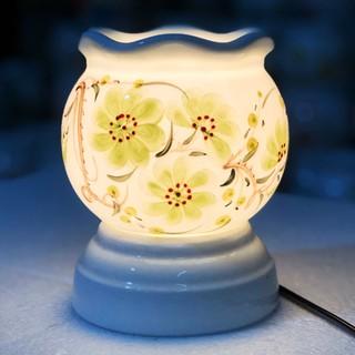 Đèn xông tinh dầu Bát Tràng size to cao 15cm 4