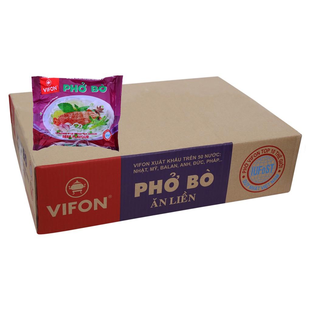 Phở bò ăn liền Vifon gói 65g (thùng 30 gói) - 10071077 , 752244869 , 322_752244869 , 128000 , Pho-bo-an-lien-Vifon-goi-65g-thung-30-goi-322_752244869 , shopee.vn , Phở bò ăn liền Vifon gói 65g (thùng 30 gói)