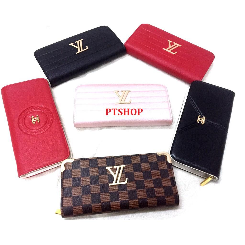 Combo 5 ví nữ thời trang/ ví dài/ ví cầm tay/ ví quảng châu