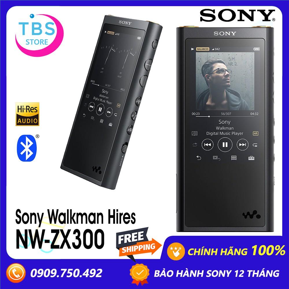 Máy nghe nhạc Hires Sony Walkman NW-ZX300 - Hàng chính hãng Sony Việt Nam - Bảo hành 12 tháng